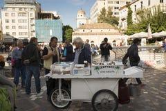Monastiraki广场 免版税图库摄影