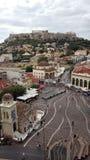 Monastiraki,雅典,希腊 免版税图库摄影