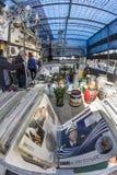 Monastiraki söndag loppmarknad arkivbild