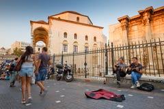 Monastiraki square, Athens. Royalty Free Stock Photos
