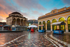 Monastiraki square, Athens. Royalty Free Stock Photos