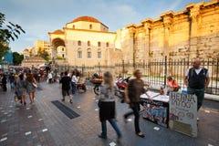 Monastiraki square, Athens. Stock Photo