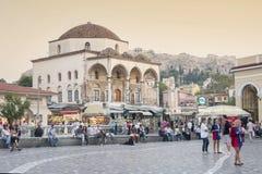 Monastiraki station Royalty Free Stock Photos
