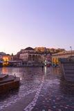 Monastiraki und Akropolis Lizenzfreies Stockfoto