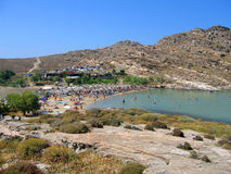 Monastiri Beach, Paros Stock Photos