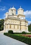 Monastère d'Arges, Roumanie Photographie stock