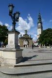 Monastère dans Czestochowa Images libres de droits
