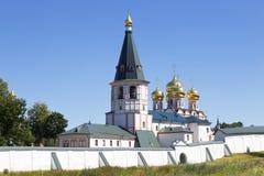 Monastère de Valday Iversky dans la région de Novgorod Photographie stock libre de droits