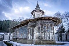 Monastère de Voronet Photographie stock libre de droits