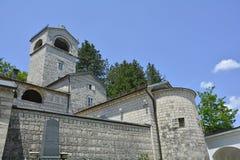 Monastère orthodoxe serbe Photographie stock