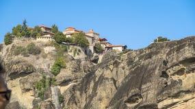 Monastries en Meteora fotografía de archivo