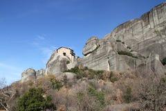 Monastries przy Meteor, Grecja Fotografia Royalty Free
