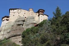 Monastries przy Meteor, Grecja Zdjęcia Royalty Free