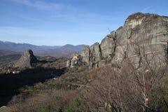 Monastries przy Meteor, Grecja Fotografia Stock