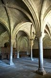 Monastério de colunas de oliva do la Imagens de Stock Royalty Free