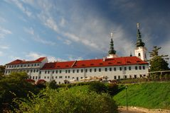 Monastério de Strahov Foto de Stock Royalty Free