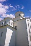Monastério no céu Fotografia de Stock Royalty Free