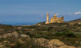 Monastry на Gozo, Мальте Стоковые Изображения RF
