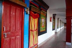 Monastry buddista, India Fotografie Stock Libere da Diritti