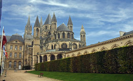 The monastry at Caen France Stock Photography