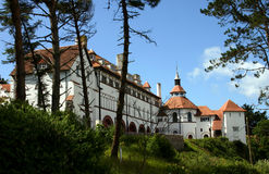 Monastry on Caldy Island. Old Monastry on the Island of Caldy, off the Pembokshire coast in Wales UK Stock Photos