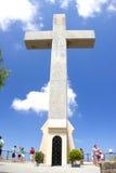Monastry de crucifix de croix de Rhodos Grèce de filerimos Photographie stock
