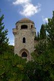 Monastry des bâtiments historiques de Rhodos Grèce de filerimos Image stock