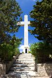 Monastry des filerimos Rhodos Grèce Photos libres de droits