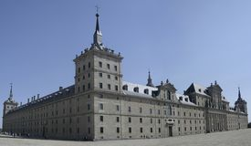 monastry el Escorial Madryt Zdjęcie Stock