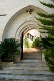 Monastry entrance Royalty Free Stock Image