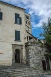 Monastry. On the island of san giulio on lake orta Stock Photos