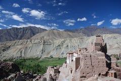 The monastry in Ladahk Royalty Free Stock Image
