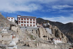 The monastry in Ladahk Stock Images