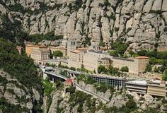Monastry in Montserrat Royalty-vrije Stock Afbeelding