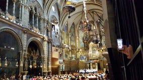 Monastry Montserrat, Catalonia royaltyfria foton