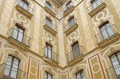 Monastry at Montserrat Royalty Free Stock Image
