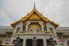 Monastry real en Chacheongsao, Tailandia Fotos de archivo