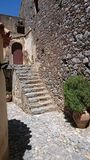 Monastry. Stairs in old Prevelli Monastry, Crete Stock Photos