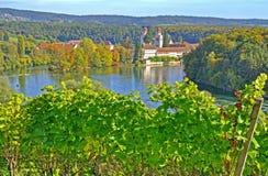 Monastry viejo de Rheinau, Suiza Imagenes de archivo