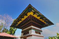 Monastryarchitectuur, Sillery Gaon, Sikkim Royalty-vrije Stock Afbeelding