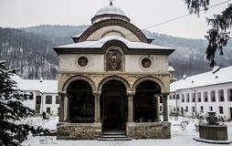 Monastyr Cozia. In the carpathian mountains. Romania Stock Photo