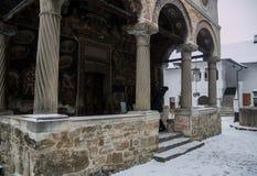 Monastyr Cozia. In the carpathian mountains. Romania Royalty Free Stock Images
