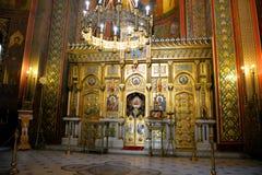Monastyr em Romênia imagens de stock