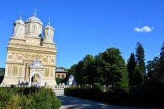 Monastyr en Roumanie photographie stock libre de droits