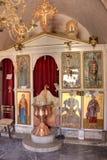 Monastyr på Spinalonga Fotografering för Bildbyråer