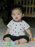 Monat-altes Kind 7 Stockbild