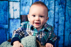 7-Monats-altes Baby Stockbild