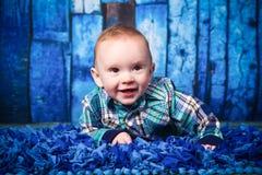 7-Monats-altes Baby Stockbilder