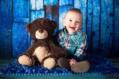 7-Monats-altes Baby Lizenzfreies Stockbild