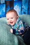 7-Monats-altes Baby Lizenzfreie Stockfotos